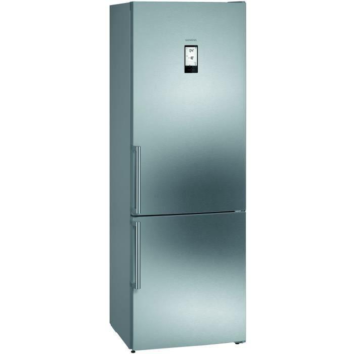 siemens - réfrigérateur combiné 70cm 435l a++ nofrost inox - kg49naiea