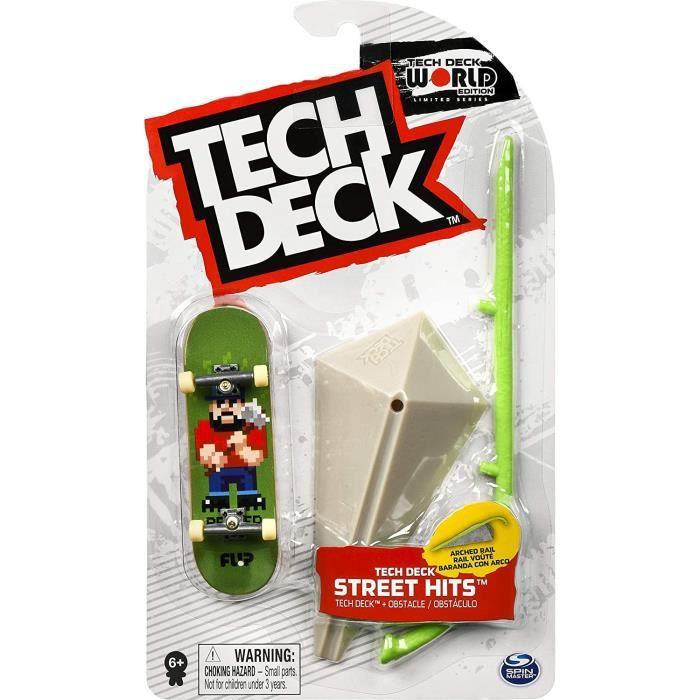 TECH DECK - STREET HITS - planches à roulettes finger board à personnaliser - 6053096 - Modèle Aléatoire