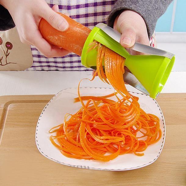 Spirale Légumes Fruits Trancheuse Coupe-Râpe Twister Home Kitchen Gadgets Outil