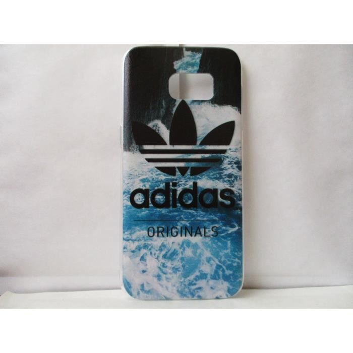 coque adidas samsung galaxy s7 edge neuf motif a achat. Black Bedroom Furniture Sets. Home Design Ideas