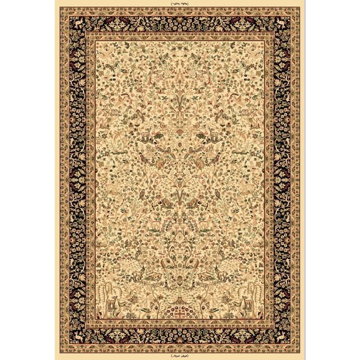 tapis moderne prestige oriental hayat beige 120x170 par. Black Bedroom Furniture Sets. Home Design Ideas