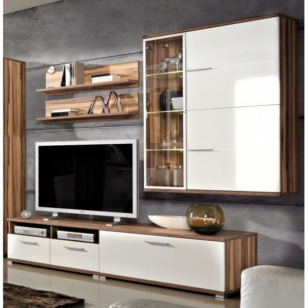 ensemble meuble tv vitrine suspendue 2 tag achat vente meuble tv ensemble meuble tv. Black Bedroom Furniture Sets. Home Design Ideas