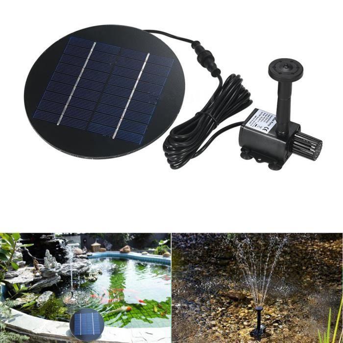 FONTAINE DE JARDIN 80cm Fontaine exterieur solaire cascade jardin, Po