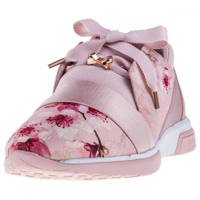 Ted Baker Cepapj Femmes Baskets Floral rose - 5 UK