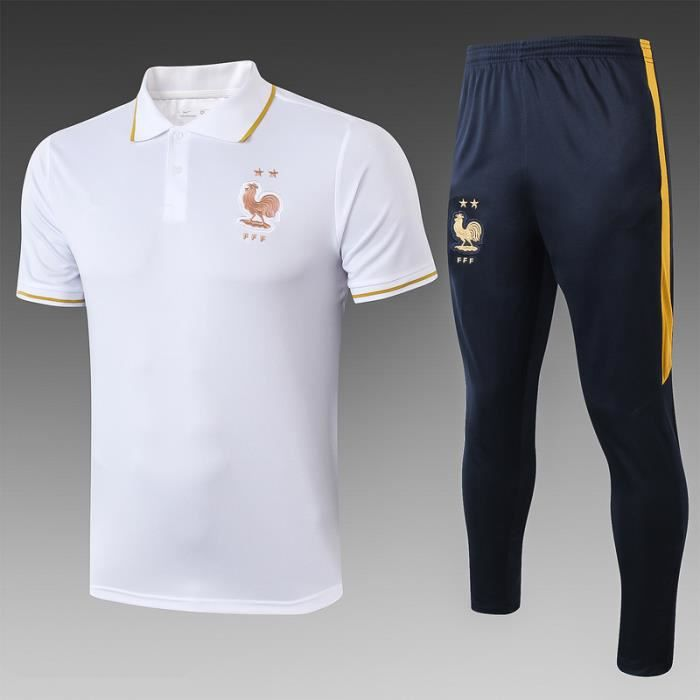 Maillot de l'équipe de France chemise polo