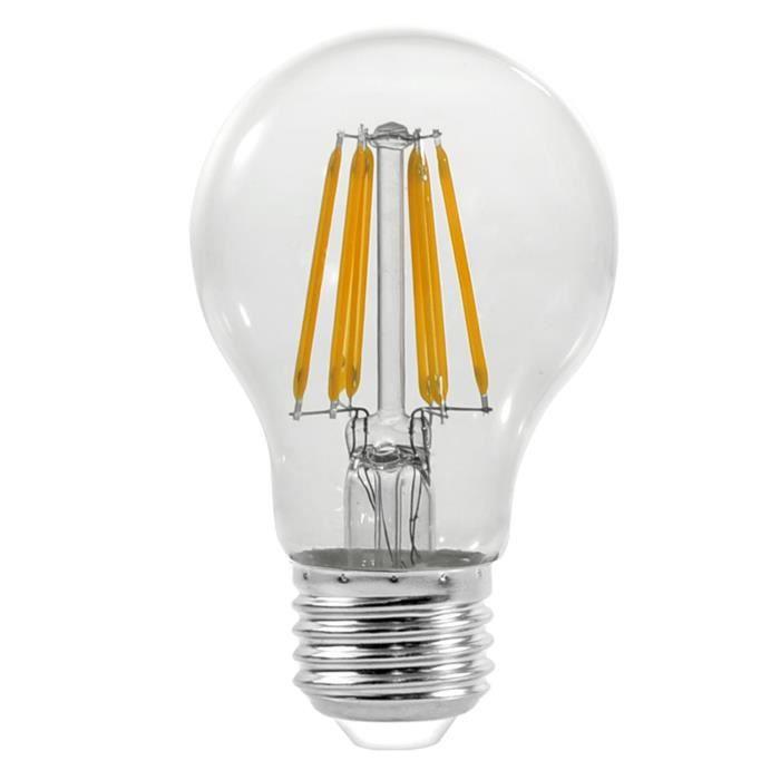 AMPOULE - LED Ampoule de style vintage E27 6W 230V 600LM-Verre t