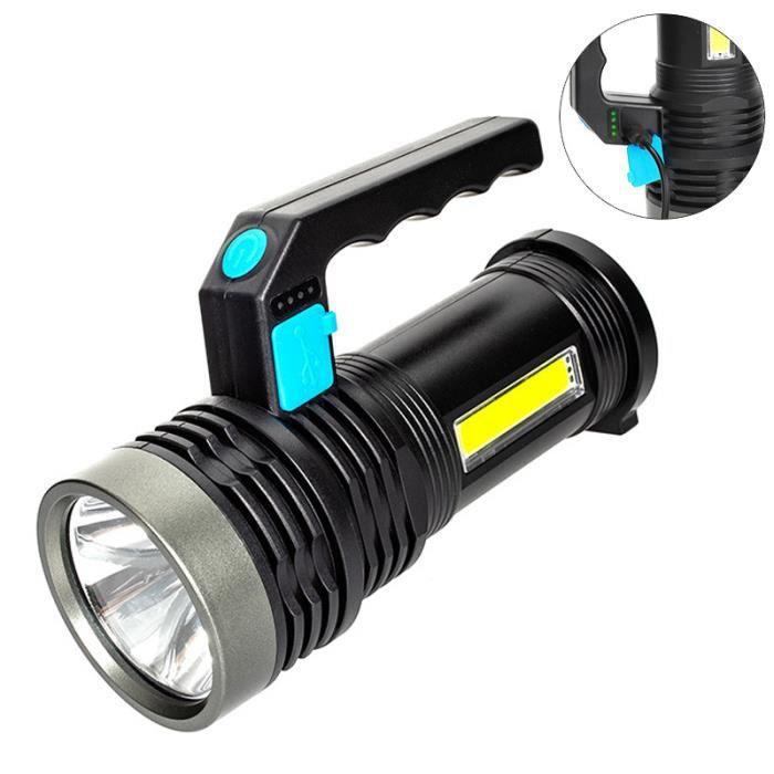 Étanche 3 Modes Mini Zoomable DEL Lampe Lanterne Camping Torche Light