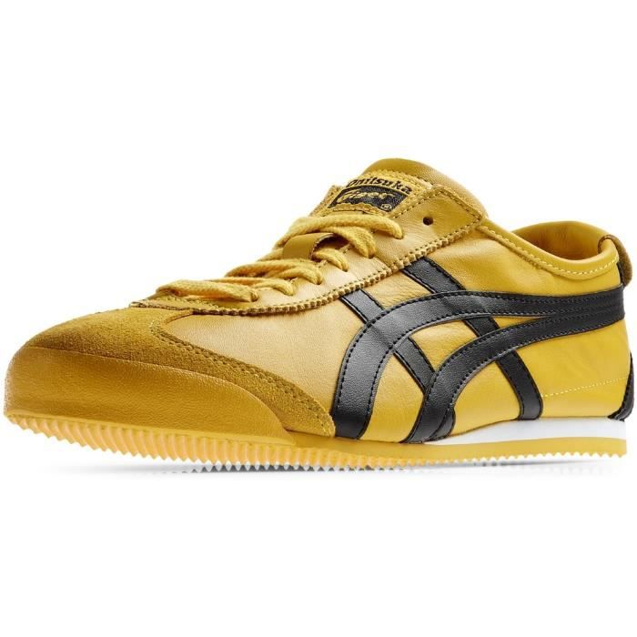 Onitsuka Tiger Mexico 66 DL408-0490 Homme Baskets Jaune,Noir