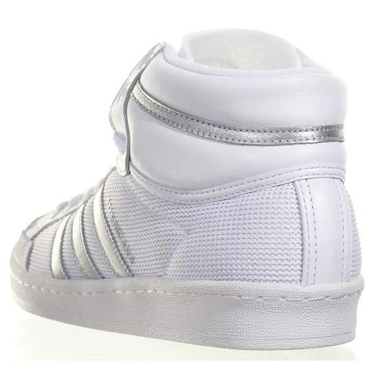 so cheap uk availability new appearance Chaussure Adidas Americana Hi 88... Blanc Blanc - Achat ...