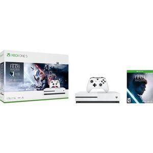 CONSOLE XBOX ONE NOUV. Xbox One S 1To Star Wars Jedi : Fallen Order + 1 m