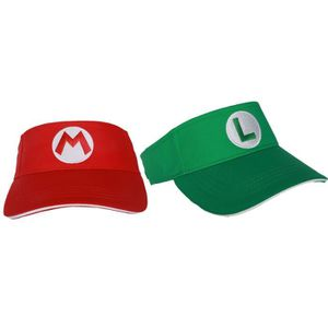 957c553832a Support à décorer Mario-luigi Hats Red-green Elastic Cap Cosplay Cos