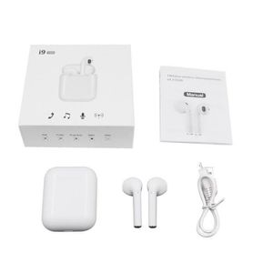 ADAPTATEUR BLUETOOTH Casque i9S TWS sans fil Bluetooth IOS Android