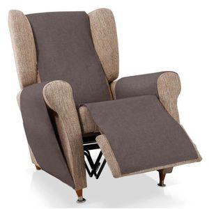 HOUSSE DE FAUTEUIL Couvre-fauteuil relax Turia, 1 place (55cm), coule