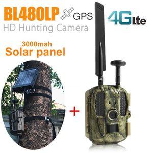APP. PHOTO MINIATURE chasse GPS 4G avec chargeur de panneau solaire 300