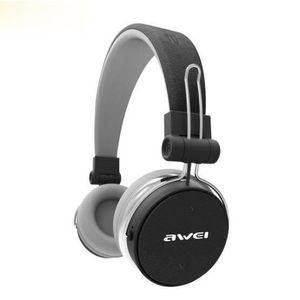 CASQUE - ÉCOUTEURS AWEI A700BL gris Bluetooth Casque Avec Microphone