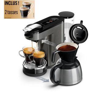 MACHINE À CAFÉ PHILIPS HD6596/51 Machine à café à dosettes ou fil