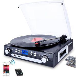 PLATINE VINYLE DIGITNOW! Tourne-Disque Bluetooth, Platine Vinyle