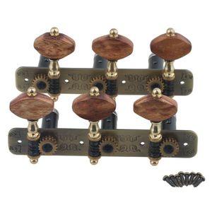 GUITARE 2 pièces 3R3L Tuning Keys Mécaniques Tuners pour g