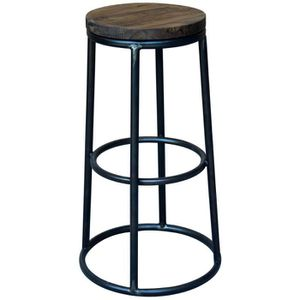 tabouret bar bois metal achat vente tabouret bar bois metal pas cher cdiscount. Black Bedroom Furniture Sets. Home Design Ideas