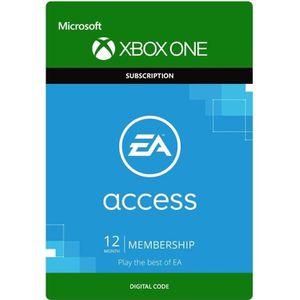 ABONNEMENT Abonnement EA Access 12 mois Xbox One