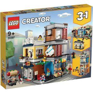 ASSEMBLAGE CONSTRUCTION LEGO® Creator 31097 L'animalerie et le café