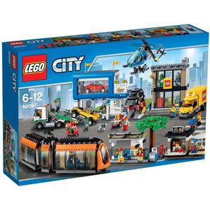 ASSEMBLAGE CONSTRUCTION LEGO® City 60097 Le Centre Ville