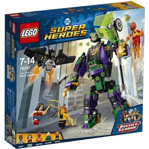 ASSEMBLAGE CONSTRUCTION LEGO® DC Comics Super Heroes 76097 L'attaque en ar