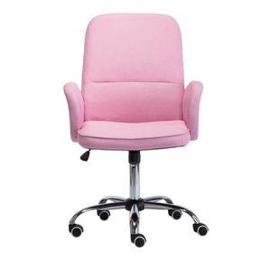 Chaise De Bureau Avec Accoudoirs Pivotant 360 Degrés Style