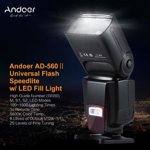 FLASH Andoer AD-560Ⅱ Universel Flash sur Caméra GN50 LED