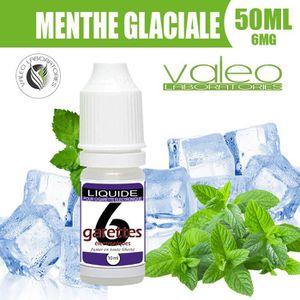 LIQUIDE E LIQUIDE 50ML – MENTHE GLACIALE 6mg DE NICOTINE -