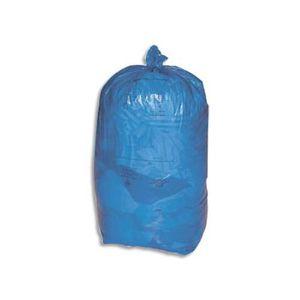 SAC POUBELLE Boite 200 sacs poubelle bleu Tri sélectif 110 l…