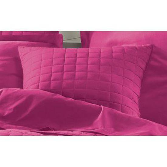 Lovely Soft Furry HOUSSE DE COUSSIN 60 cm en fuchsia