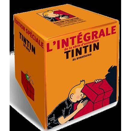 DVD FILM DVD Coffret integrale tintin