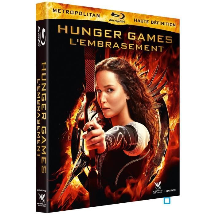BLU-RAY FILM Blu-Ray Hunger games 2 : l'embrasement