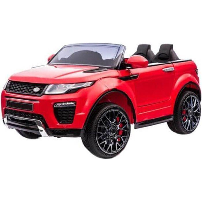 Range Rapid voiture électrique enfants télécommande 12v pas cher Rouge - Voiture électrique pour enfant avec batterie 12v