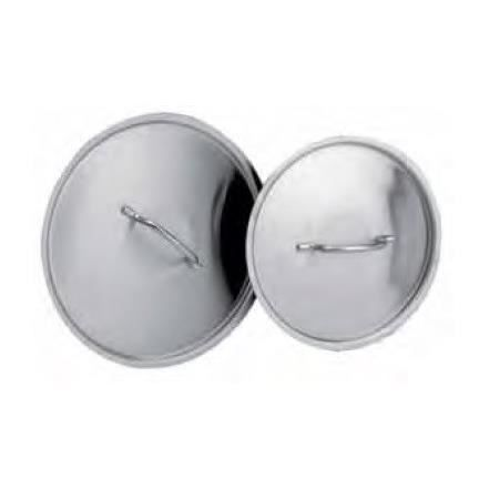 COUVERCLE INOX Diametre:50 cm