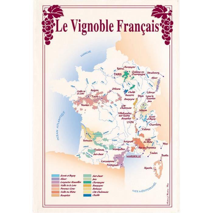 TORCHON VIGNOBLE FRANCE Torchons & Bouchons ASS