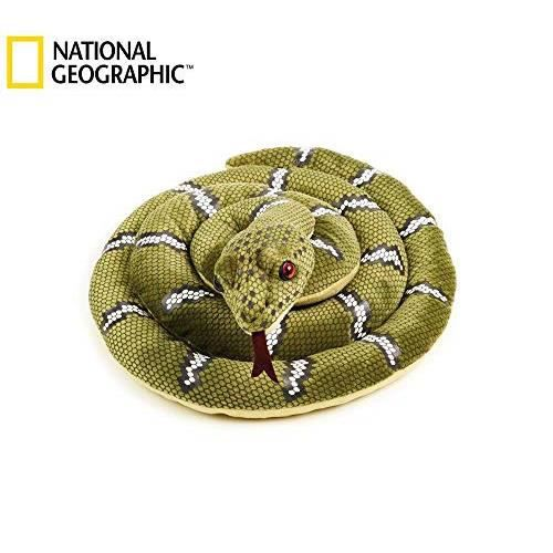 National Geographics Grand Animal en Peluche Naturel Serpent Taille M 8004332707097