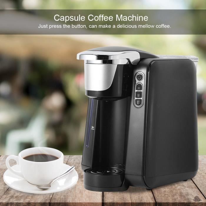 Mini machine à café à capsules portable cafetière électrique 48 oz pour une utilisation à domicile - faible consommation d'énergie