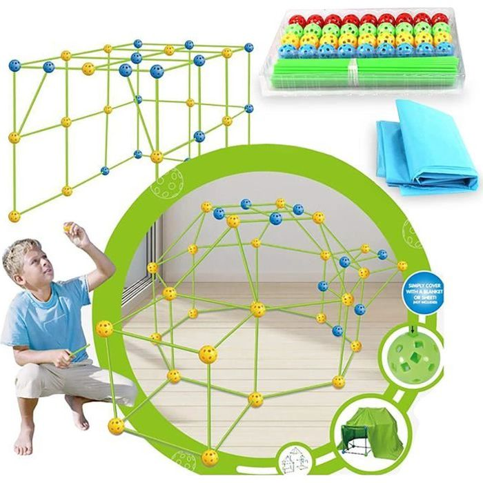 VEHICULE A CONSTRUIRE ENGIN TERRESTRE A CONSTRUIRETentes de Kids, Construisez votre cabane, Construction Fort Kits de Enfants 79