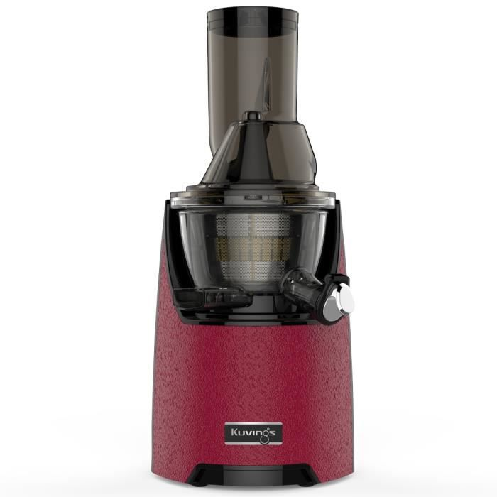 Kuvings EVO 820 Rouge - Extracteur De Jus Vertical