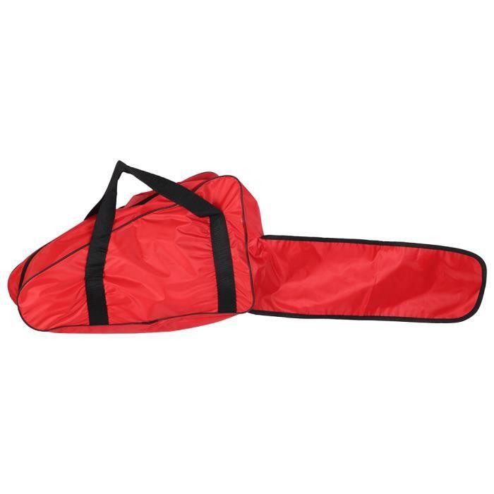Garosa Sac de tronçonneuse Étui de rangement pour sac de transport de scie à chaîne portable en tissu Oxford pour scie à