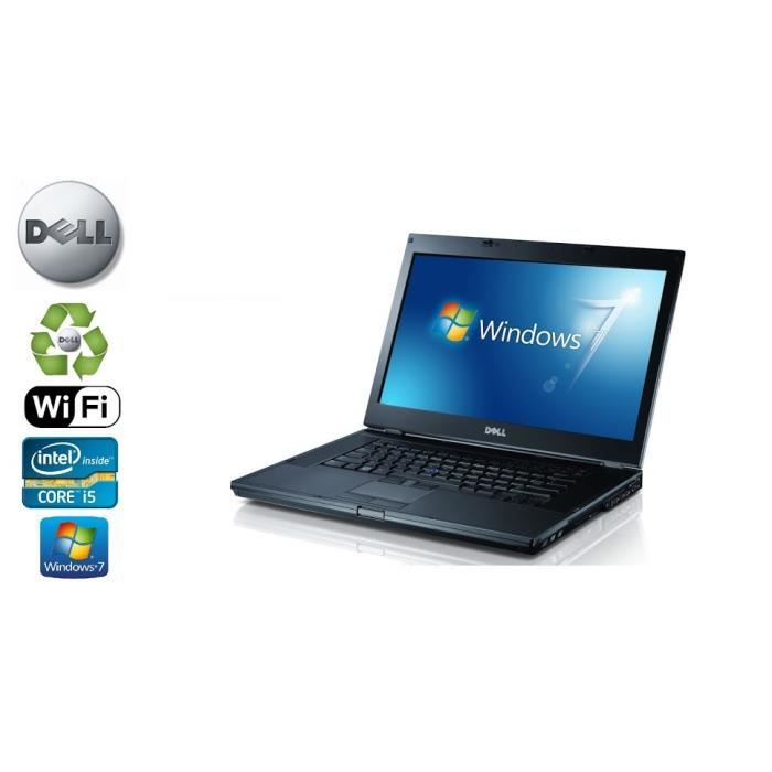 Ordinateur Portable Dell Latitude E6410 Core I5 Disque 250Go 6Go Ram Webcam