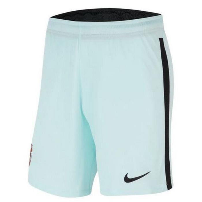 Nouveau Short Officiel de Football Enfant Nike Portugal Extérieur Euro 2020