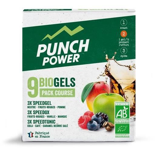 PUNCH POWER Pack de 9 Gels Bio