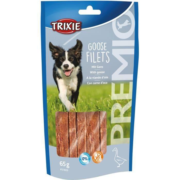 TRIXIE Filets d'oie PREMIO - 65 g - Pour chien