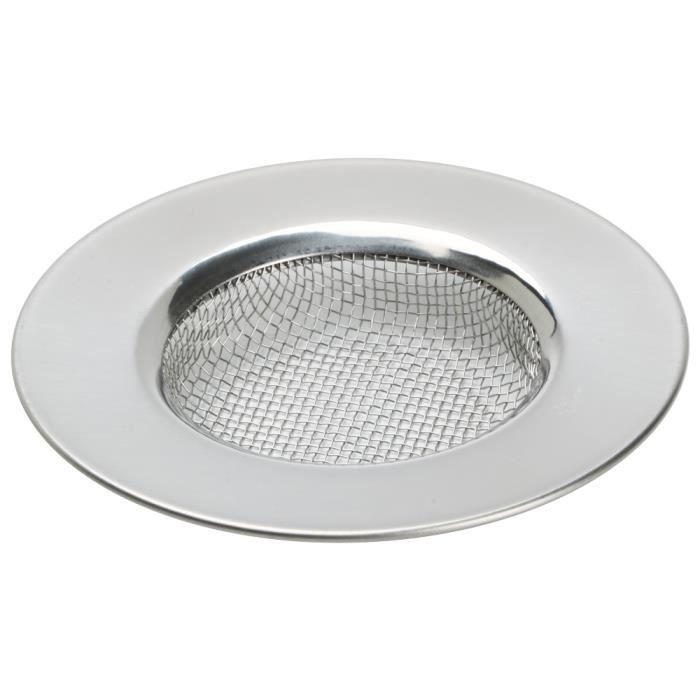 TRIXES Évier en acier inoxydable et douche maille filtre égouttoir pour la cuisine et salle de bains
