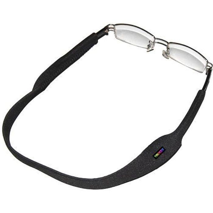 TRIXES Cordon sport noir pour lunettes et lunet...