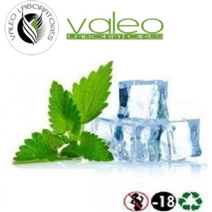 ELIQUIDE DOUBLE MENTHE 12mg 50 ml VALEO