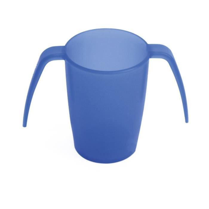 VITILITY - Gobelet ErgoPlus - Aide à la préhension - Blue
